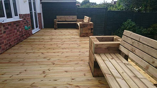 Garden Decking Installers Northampton Upton Duston